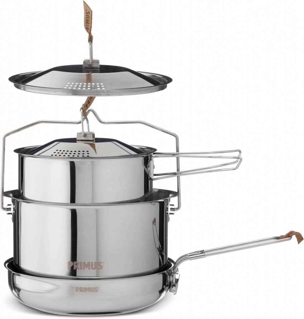 Primus Campfire Cookset Large Stainless Steel