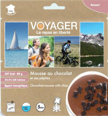 Chocolate mousse - Voyager