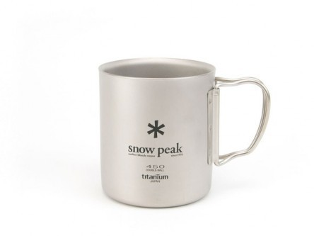 Titanium Double Wall 450 Mug – Snow Peak