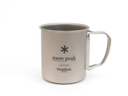 Snow Peak Titanium Single Cup 450