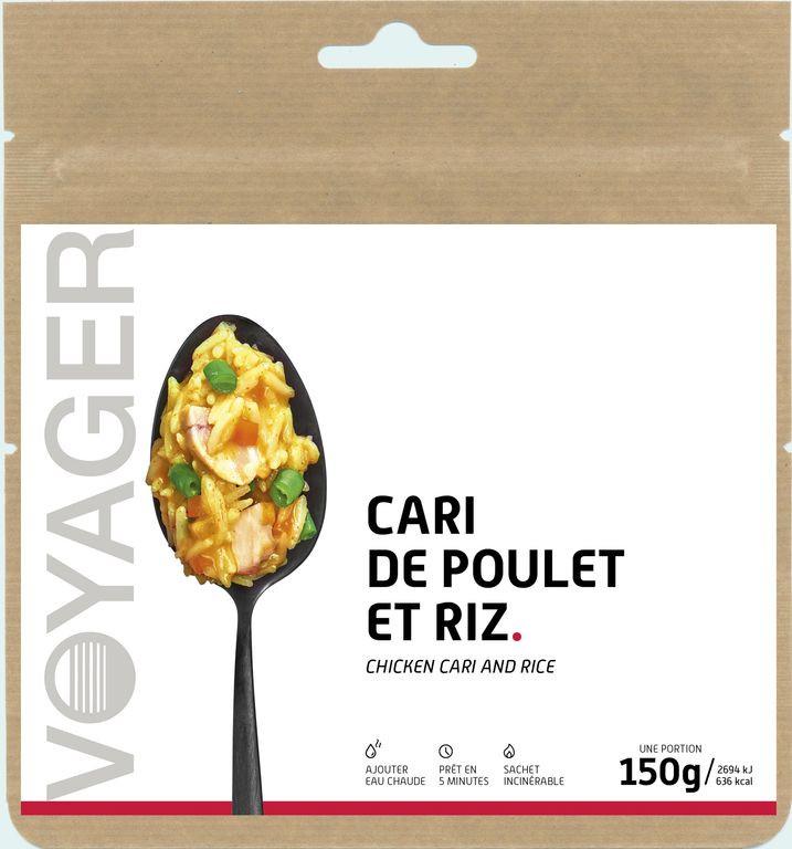 Cari de poulet et riz - Voyager