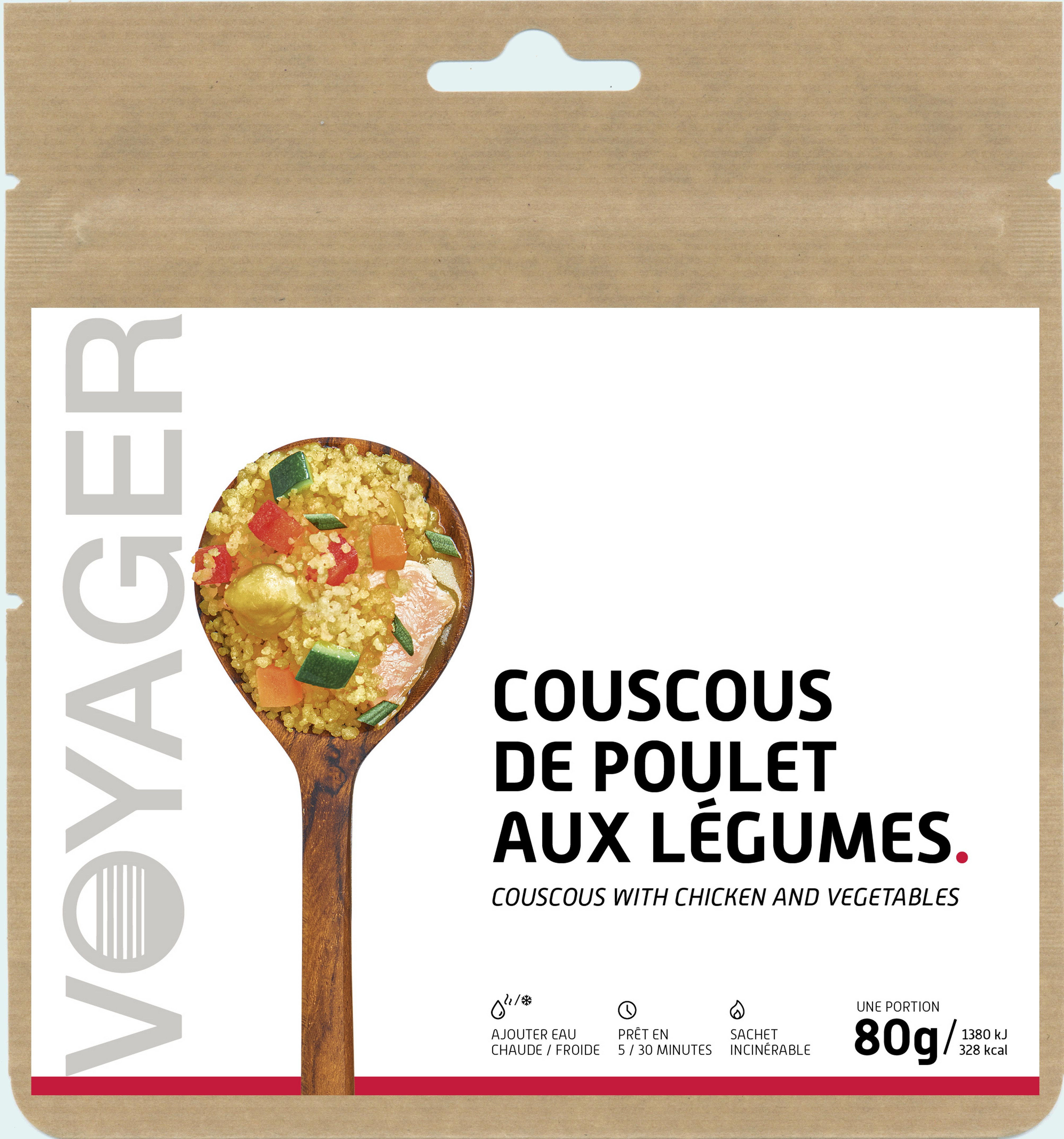 Couscous with chicken - Voyager