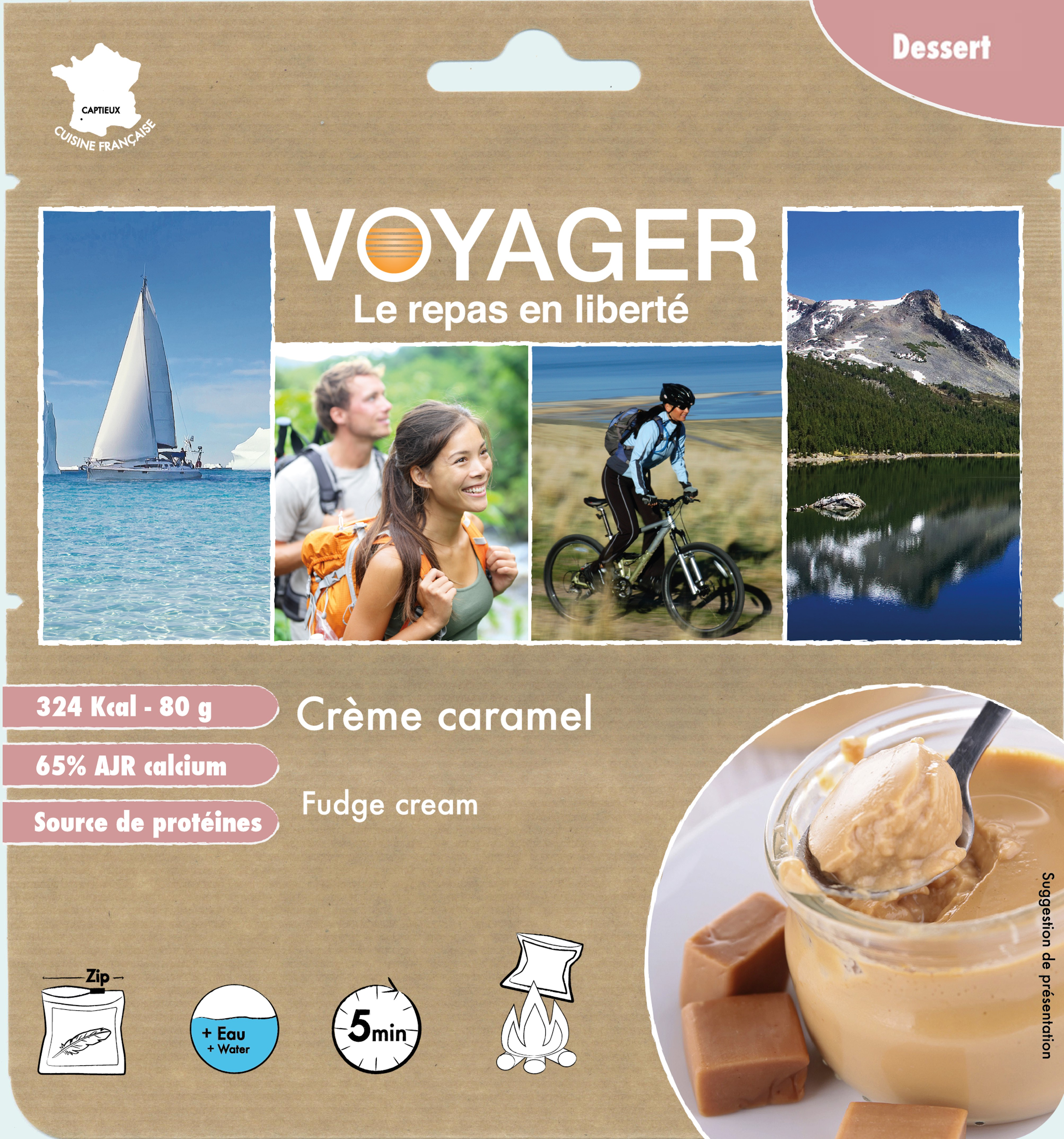Fudge Cream- Voyager