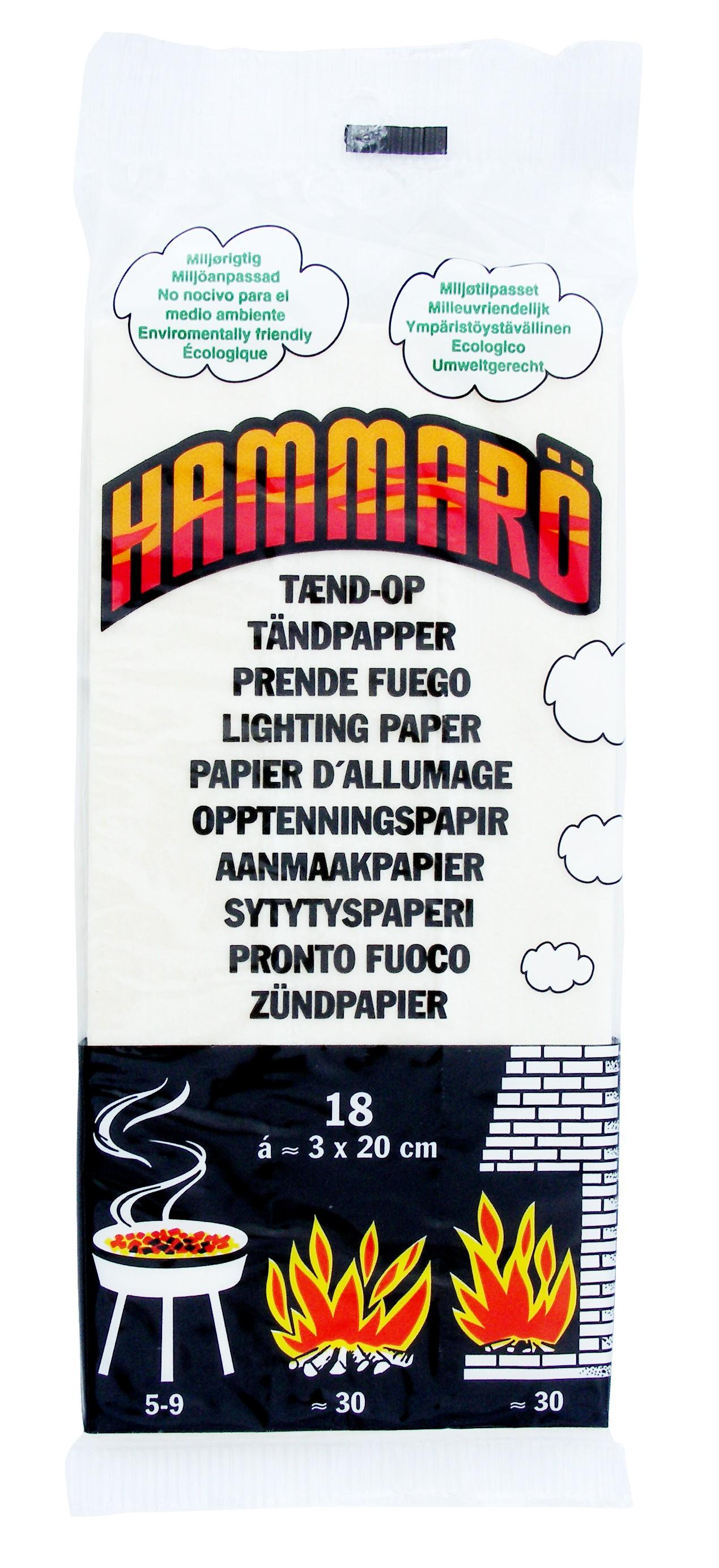 Papier allume-feu Hammarö