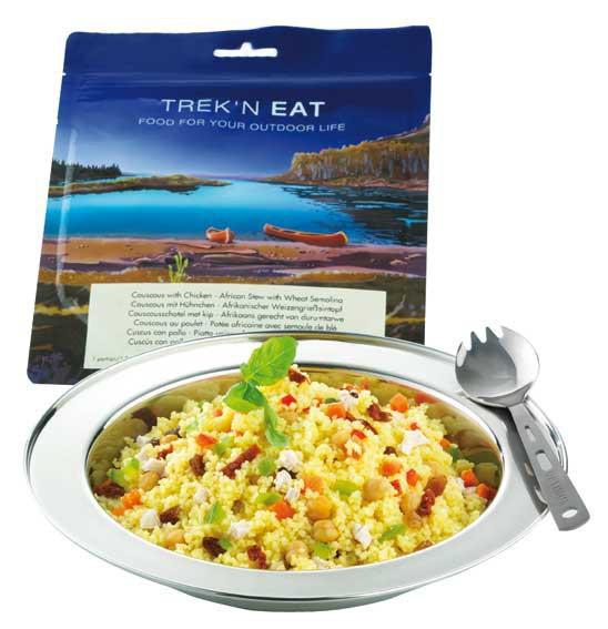 Couscous au poulet et aux légumes - Trek'n Eat