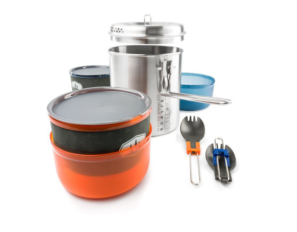 Popote GSI Glacier Stainless Dualist