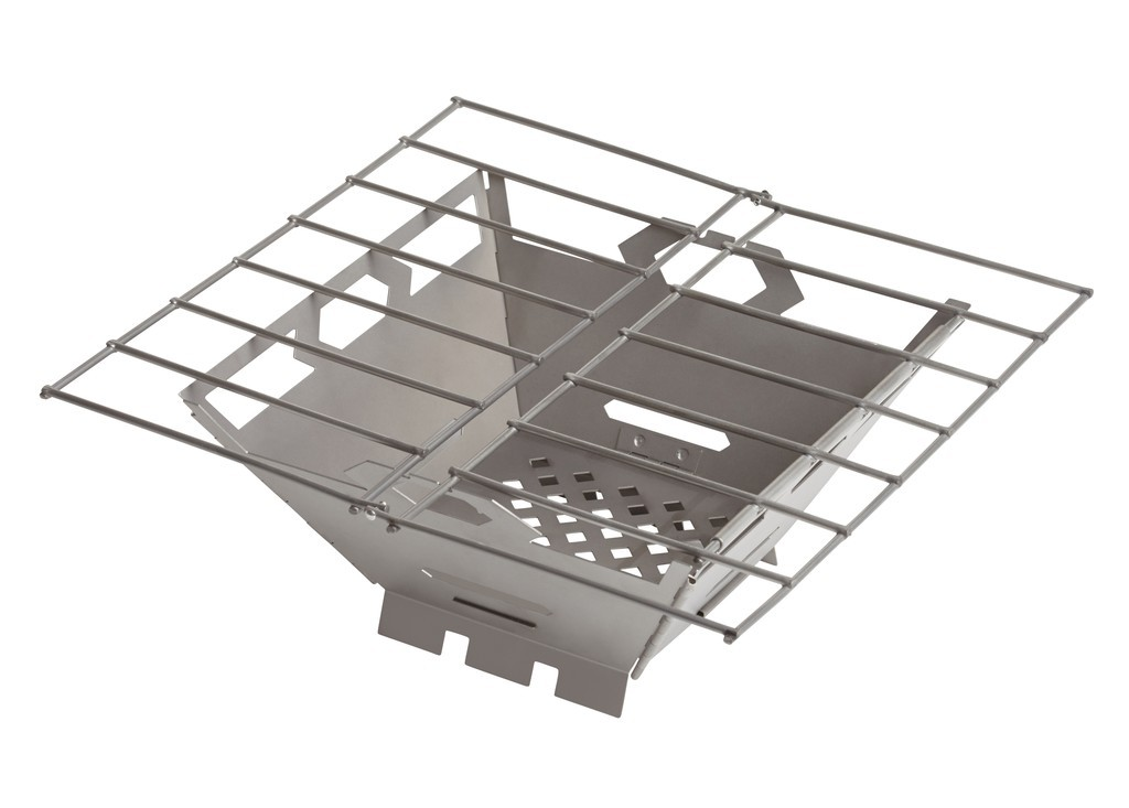 Vargo Stainless Steel Fire Box Grill