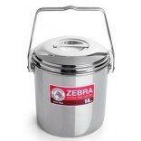 Zebra Round Lunch Box