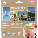Yoghourt with red berries - Voyager
