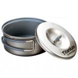 Evernew Ti Non-Stick Pot 0.6 L