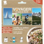 Ham with lentils - Voyager