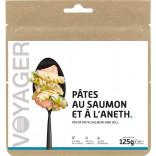 Pâtes au saumon et à l'aneth - Voyager