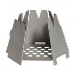 Vargo Stainless Steel Hexagon Wood Stove