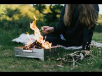 Introducing Fire Safe: a Portable Fire Pit by Wolf and Grizzly