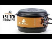 The Jetboil 1.5L Cooking pot, with FluxRing technology